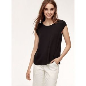 ARITZIA | Black Wilfred Free Juliger Blouse